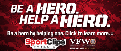 Sport Clips Haircuts of Sherwood ​ Help a Hero Campaign